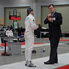 Lewis Sloter in Division II Men's Epee.
