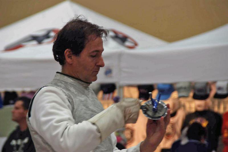 Julian Moiseiwitsch in the Division III Men's Foil.