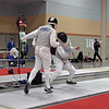 Julian Moiseiwitsch (left) in the Division III Men's Foil.