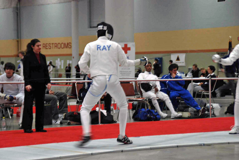 No, this is not Ray Finkleman fencing in the NAC.