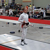 Olivia Morreale in the Division II Women's Epee.