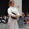 Ella Barnes in the Division III Women's Epee.