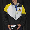 Katharine Holmes, gold medalists in Cadet Women's Epee, 2009-2010 NAC B, Kansas City, MO.