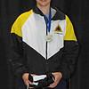 Katharine Holmes, gold medalists in Cadet Women's Epee, 2009-2010 NAC B, Kansas City, MO.