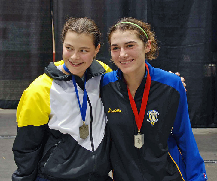 Katharine Holmes (left) and Isabella Barna.