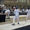 Katharine Holmes vs May Peterson in Cadet Women's Epee.