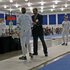 Katharine Holmes vs Courtney Hurley in Junior Women's Epee.