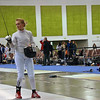 Katharine Holmes fenced Oksana Samorodov in the round of 32.