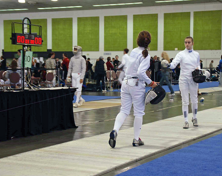 Nina Moiseiwitsch in Junior Women's Epee.