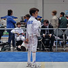 Romain Hufbauer in the Y10 Men's Epee.