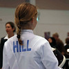 Linden Hill in the Y10 Women's Epee.