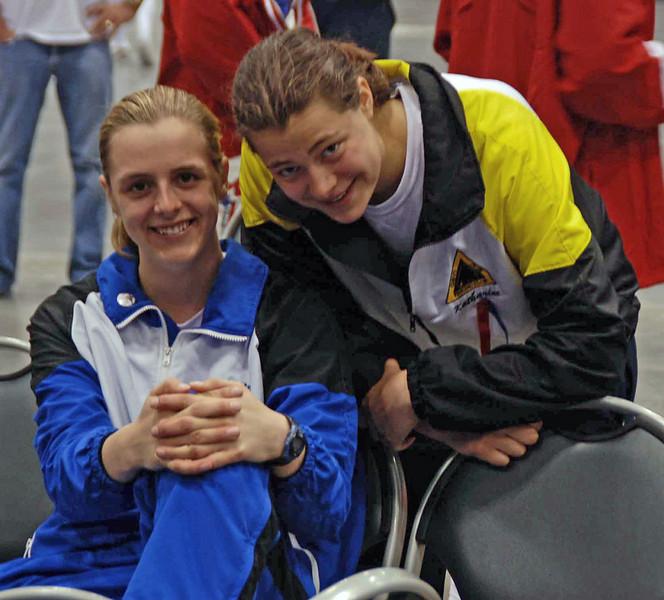 Grace Neveu and Katharine Holmes.