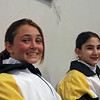 Our Y14 Women's Epee fencers, Carolyn Townsend (left) and Elizabeth Wiggins.