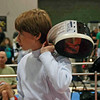 Jacob Roberts in the Y12 Men's Epee.