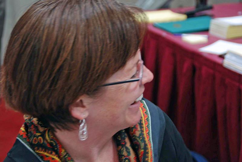 Christine Simmons, USFA national staff.