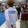 Jacob Roberts in the direct elimination round of the Y12 Men's Epee.