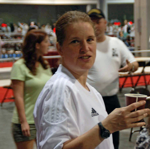 Maureen Griffin, US National Junior/Cadet Women's Epee Coach.