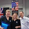 The Leon-Paul USA Sales Team (from left): Bill Murphy, Cynthia Sirico, Alex Paul.
