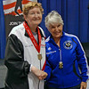 Mary Annavedder, 1st place, Veteran-70+ Women's Epee.