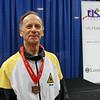 Mark Henry, bronze medal, in the Veteran-70+ Men's Epee.