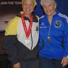 Bettie Graham, 2nd place, Veteran-70+ Women's Epee.