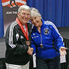 Terry Abrahams, 3rd place, Veteran-70+ Women's Epee.