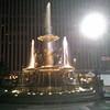 The fountain at Fountain Square, Cincinnati, OH.