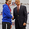 Katharine Holmes receives her 6th place medal in Junior Women's Epee.