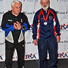 Richard Dunlop, 8th place, Veteran-70+ Men's Epee.