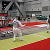 Bettie Graham vs. Diane Reckling in the Veteran-70+ Women's Foil direct elimination round.