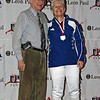 Ellen O'Leary, 2nd place, Veteran-70+ Women's Foil.