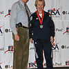 Una Jackson, 6th place, Veteran-70+ Women's Foil.