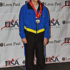Judith Evans, 5th place, Veteran-70+ Women's Foil.