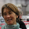 Ella Barnes' aunt who lives in Seattle came to watch the Junior Women's Epee event.