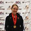 Eliza Stone, US National Women's Sabre Champion.