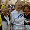 Bettie Graham, Pat Bedrosian and Catherine Radle.