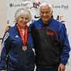 Ellen O'Leary, 3rd Place, Veteran-70+ Women's Epee.