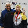 Bettie Graham, 3rd Place, Veteran-70+ Women's Epee.