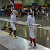 Emma Scala in the Youth-12 Women's Epee.