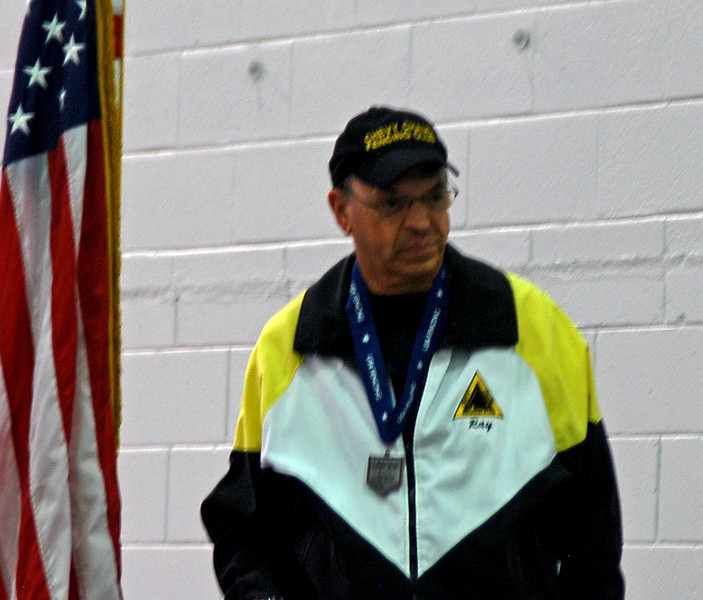 Coach of the National Champion, Raymond Finkleman.