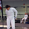 Julia Smith in the Under-16 Women's Epee.