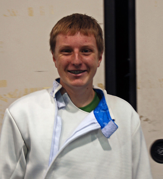 Former Chevy Chase Fencing Club member Cameron Sullivan moved to San Francisco and competed at this Summer Nationals.