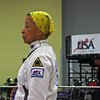 Bettie Graham in the Veteran-70+ Women's Epee.