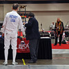 Mark Henry in the Veteran-70+ Men's Epee.