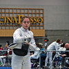 Emma Scala in the Junior Women's Epee.