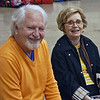 Emma Scala's grandparents, Bill and Lorraine Lewis, came from Alabama to watch Emma compete.