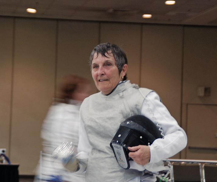 Veteran-70+ Women's Foil - Abigail Marks
