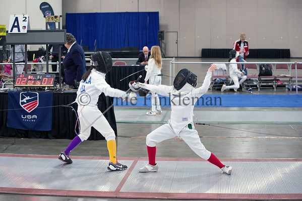 Clara Colinvaux, Youth-10 Women's Epee
