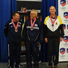 Mark Henry (right), 6th in Veteran-70+ Men's Epee.