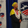 Bettie Graham, silver medal, Veteran-70+ Women's Epee.